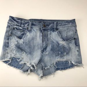 ✅ American Eagle Shorts High Rise